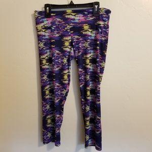 Onzie Charley Capri Cropped Yoga Pants S/M Stretch